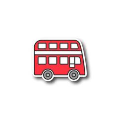 Double decker bus patch