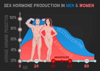 Sex hormone production
