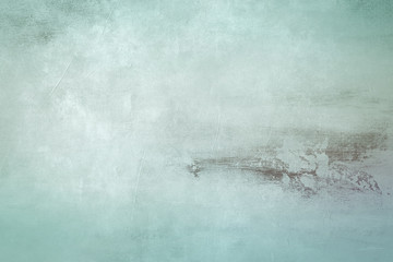 pale blue grungy canvas draft background