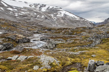 Videdalen Valley and the Strynefjellet Mountains