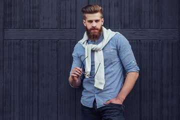 Handsome man outdoor