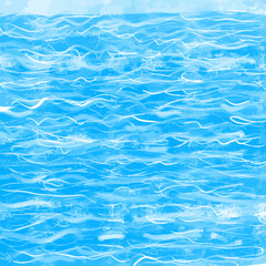 Abstract water background drawing