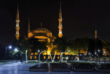 Sultan Ahmed Mosque in Istanbu