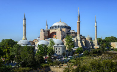 Hagia Sophia (Ayasofya) museum in Istanbul, Turkey.