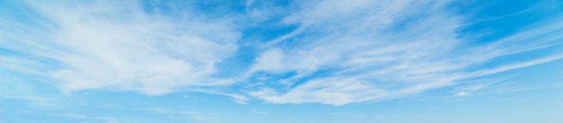 Cirrus clouds in springtime