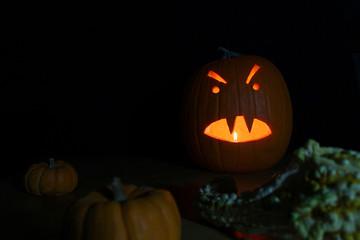 Angry Jack O' Lantern