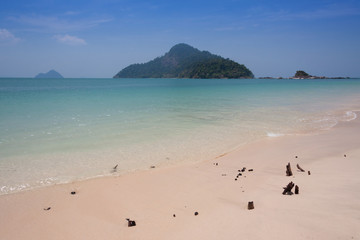 Tropical beach at  Andaman Sea, Thailand
