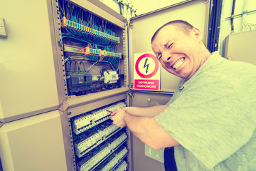 electrician electrocuted