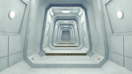 Futuristic Space Structure