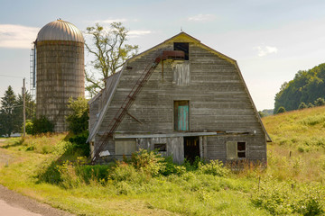 Barn, farm, New York State