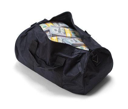Duffel Bag Full of Money