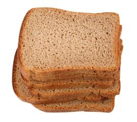 Dark Bread Isolated