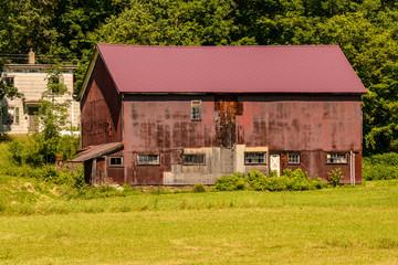 Barn, Farm, New York State