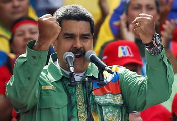 Closing campaign rally of Nicolas Maduro
