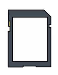 SDカードシール(色)