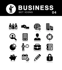 Business Icons Set.