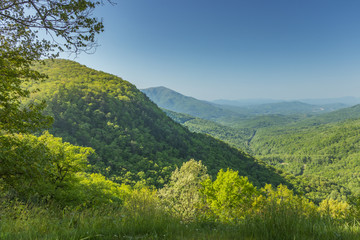 Country Life Scenery in the Appalachian Mountain