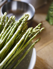 Fresh Asparagus food photography recipe idea