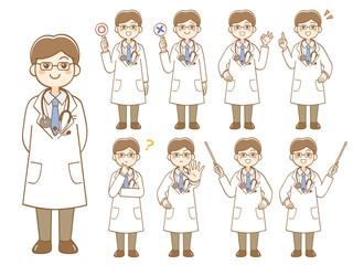 男性医師 セット