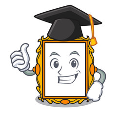 Graduation picture frame character cartoon