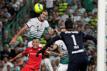 Football Soccer - Mexican First Division Final First Leg - Santos Laguna v Toluca