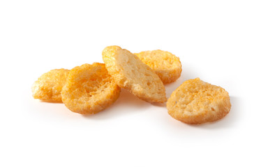 Handful of croutons