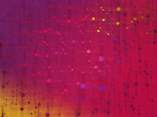 Brush with dot color graphic design abstract background