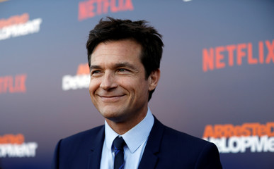 "Cast member Bateman poses at a premiere for the season 5 of the television series ""Arrested Development"" in Los Angeles"