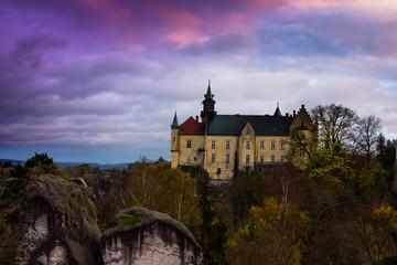 Hruba Skala Castle, Czech Republic, Europe