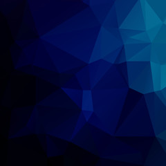 Abstract dark blue polygon texture