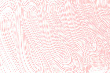 Natural soap texture. Alluring millenial pink foam trace background. Artistic awesome soap suds. Cleanliness, cleanness, purity concept. Vector illustration.