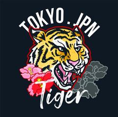 Tokyo jpn tiger