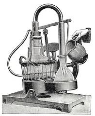 Eismaschine für Handbetrieb