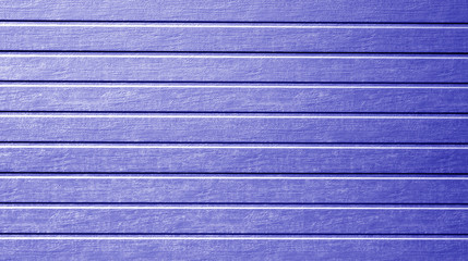 Plastic siding wall texture in blue color.