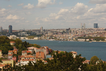 Top view of Istanbul