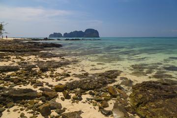 Paradise island.  Bamboo Island ( Ko Phi Phi Don ) .Thailand.