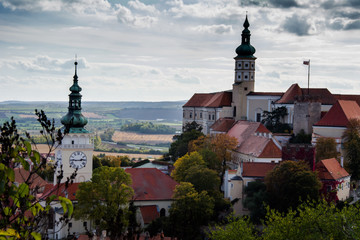 Mikulov Castle, Czech Republic, Europe