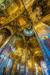 art in Church of the Savior on Spilled Blood