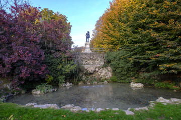 Indro Montanelli park in Milan