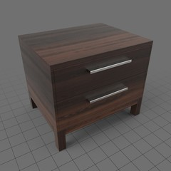 Modern bedside table