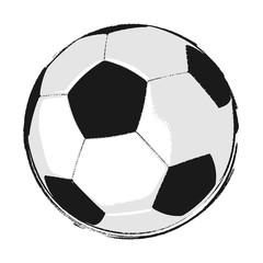 Vektor Fußball Comic Style