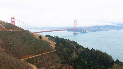 Long red bridge - Golden Gate