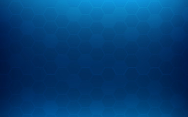 Blue honeycomb abstract background. Wallpaper and texture concept. Minimal theme Fototapete