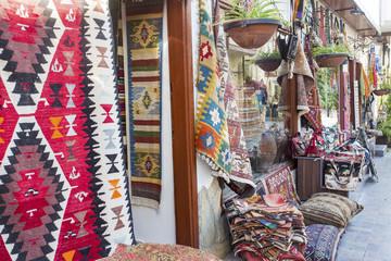 Turkey / Antalya, May 16th 2018, Antalya Kaleici Traditional carpet shop