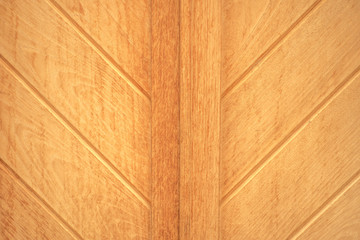 Wooden texture background with diagonal lines that form V shapes, vintage, top view
