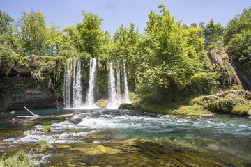 Turkey Antalya Duden Waterfall