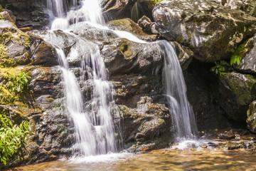 beautiful natural waterfall