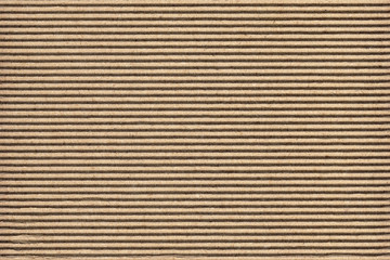 High Resolution Recycle Brown Corrugated Cardboard Coarse Grunge Texture Sample