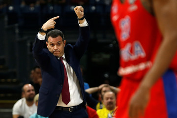 EuroLeague Final Four Semi Final A - CSKA Moscow vs Real Madrid