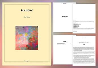 Einfaches Buch-Layout für ePub